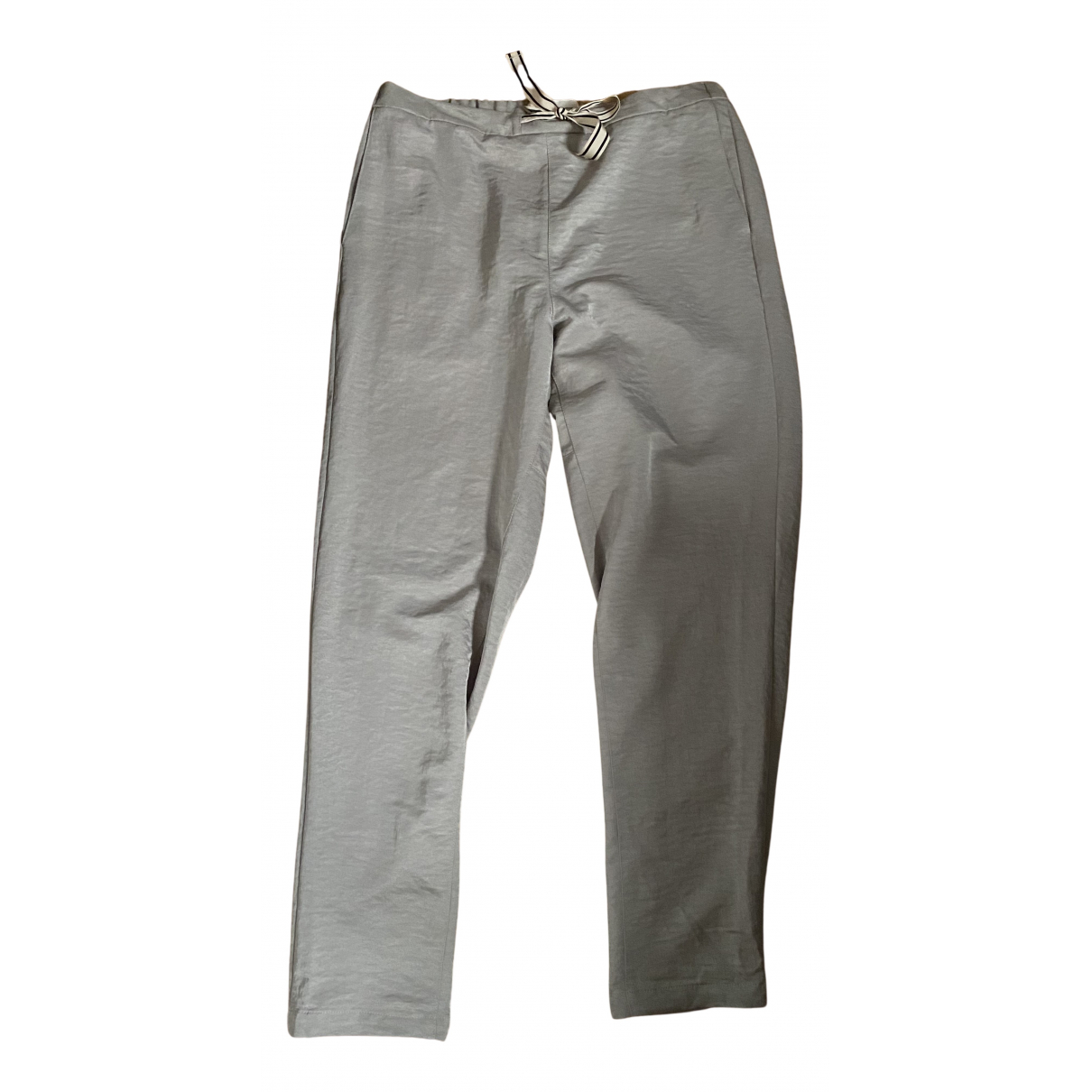 Bellerose N Beige Trousers for Women 3 0-5