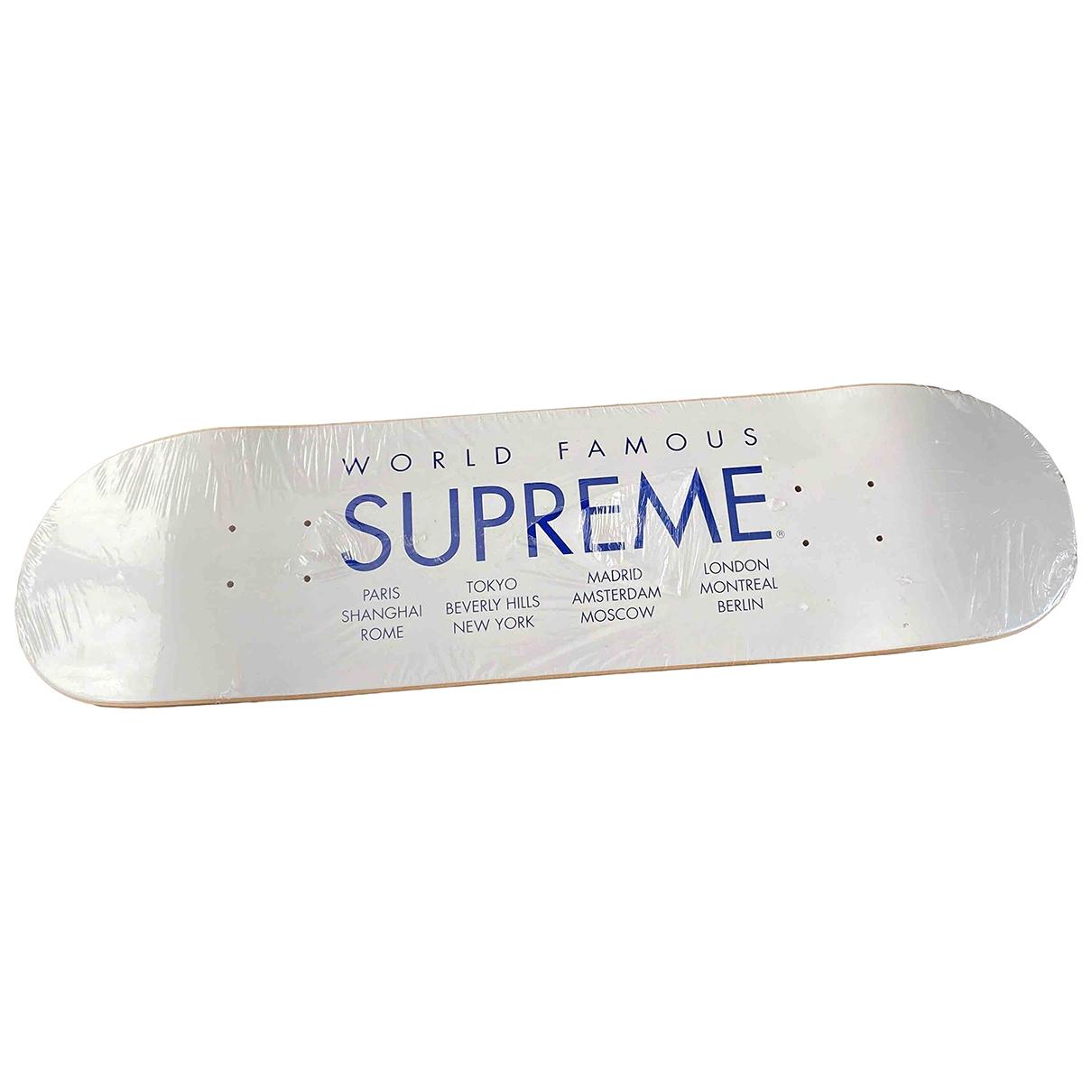 Supreme - Glisse   pour lifestyle en bois - blanc