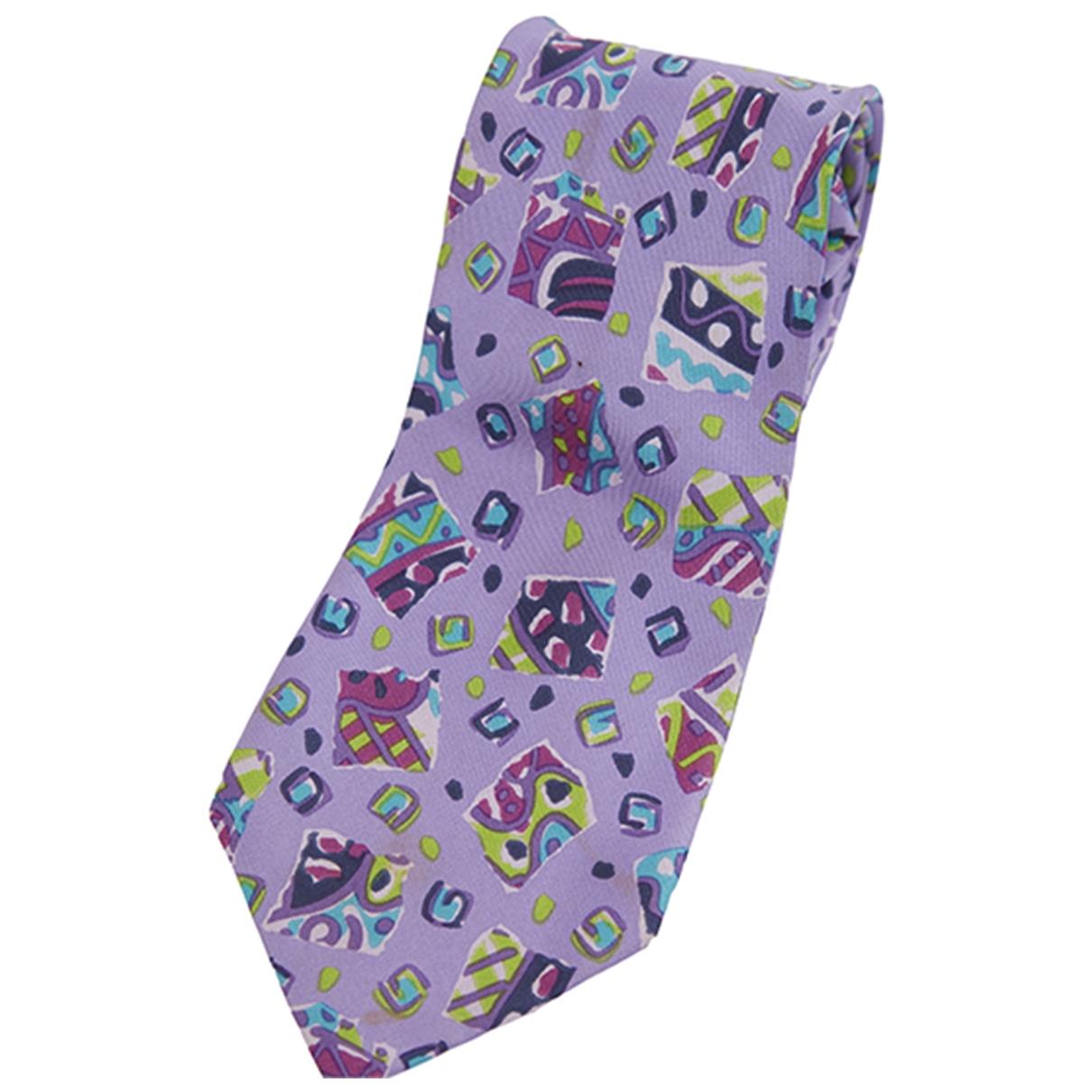 Missoni \N Purple Silk Ties for Men \N