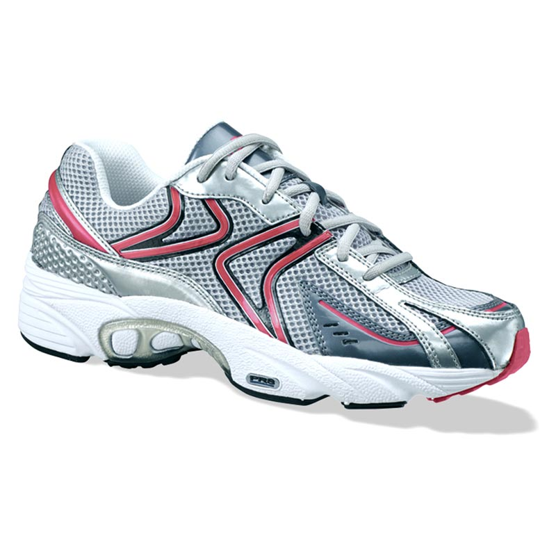 Aetrex Zoom Women's Silver/Cranberry Synthetic 12 M