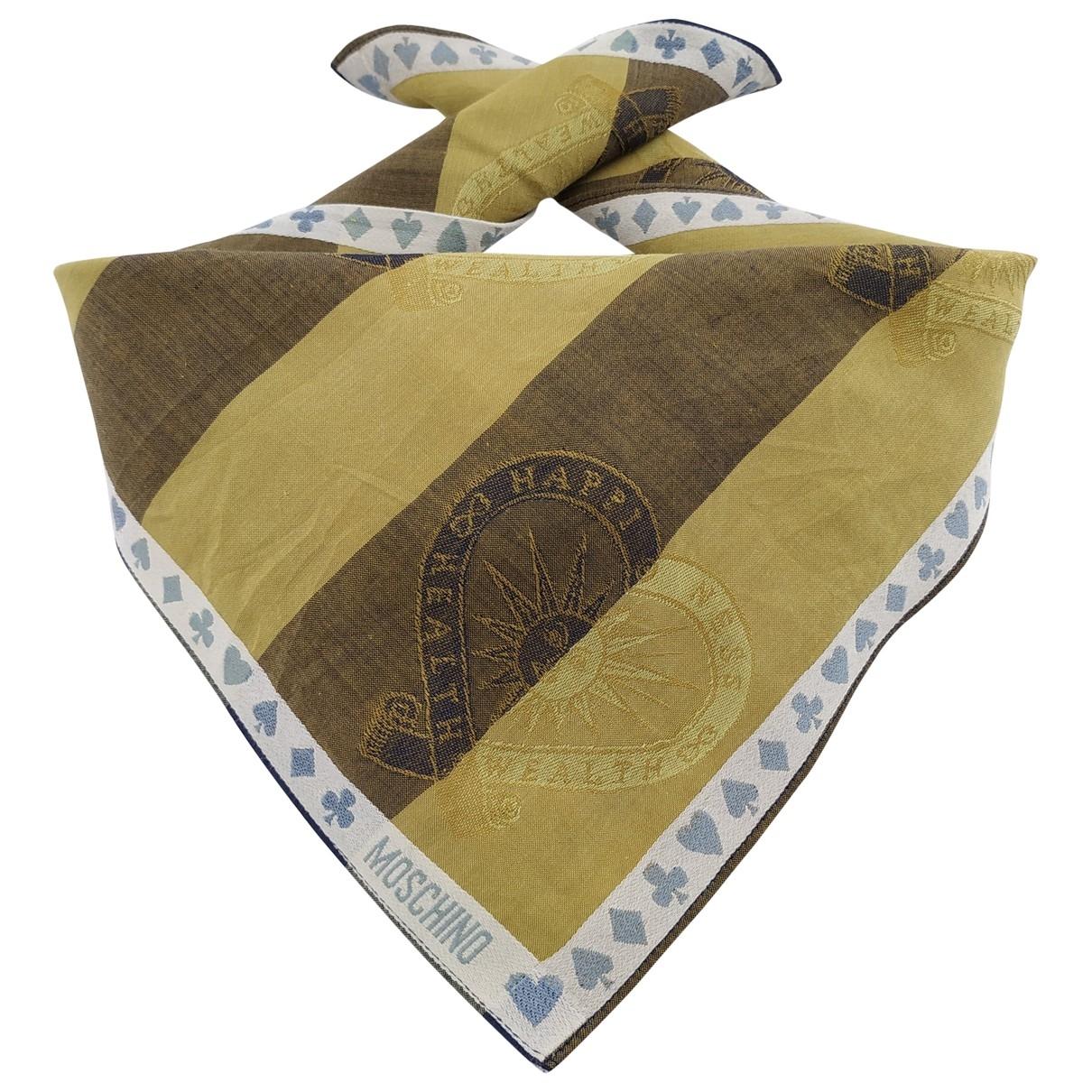 Moschino - Foulard   pour femme en coton