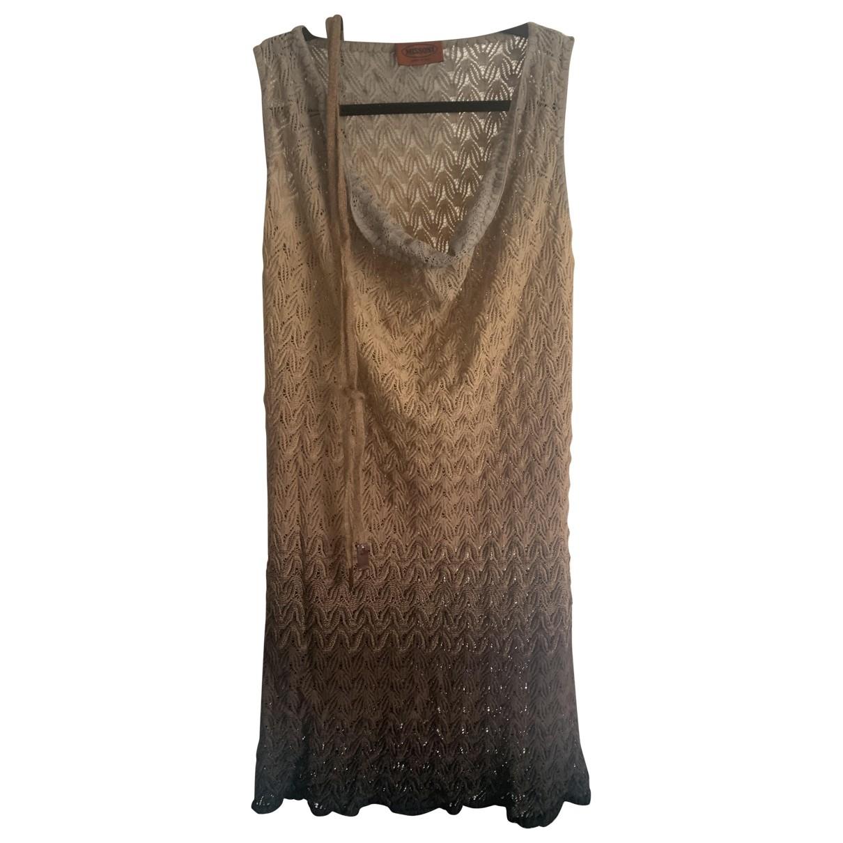 Missoni \N Kleid in  Braun Baumwolle