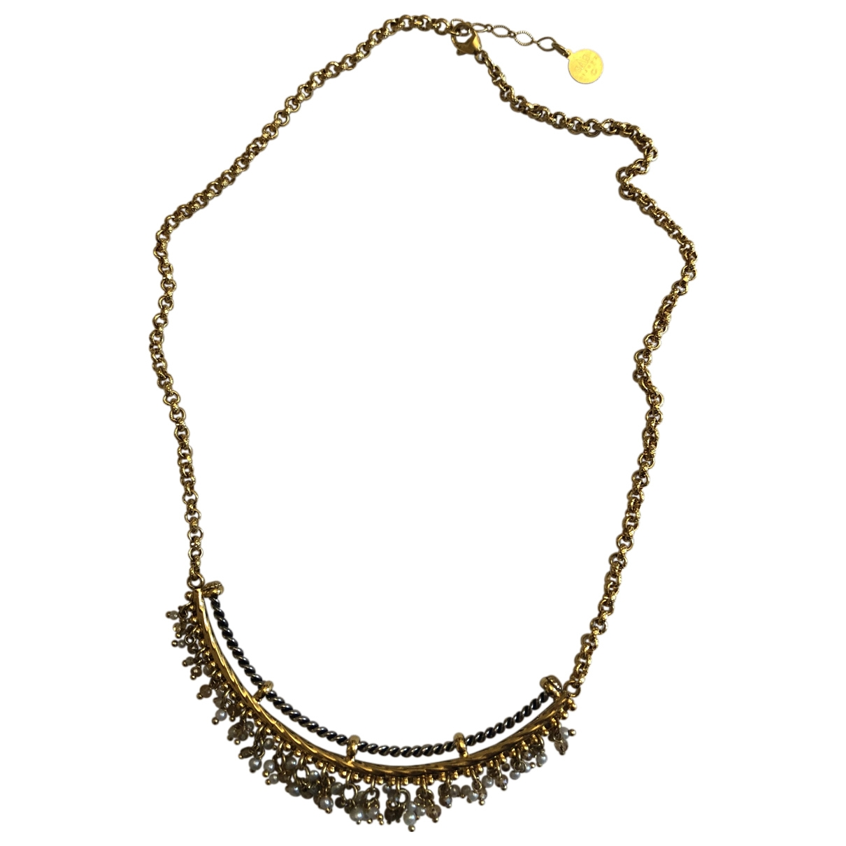 Gas \N Gold Gold plated necklace for Women \N