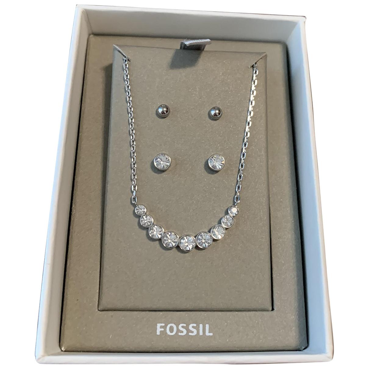 Fossil \N Schmuck-set in  Silber Silber