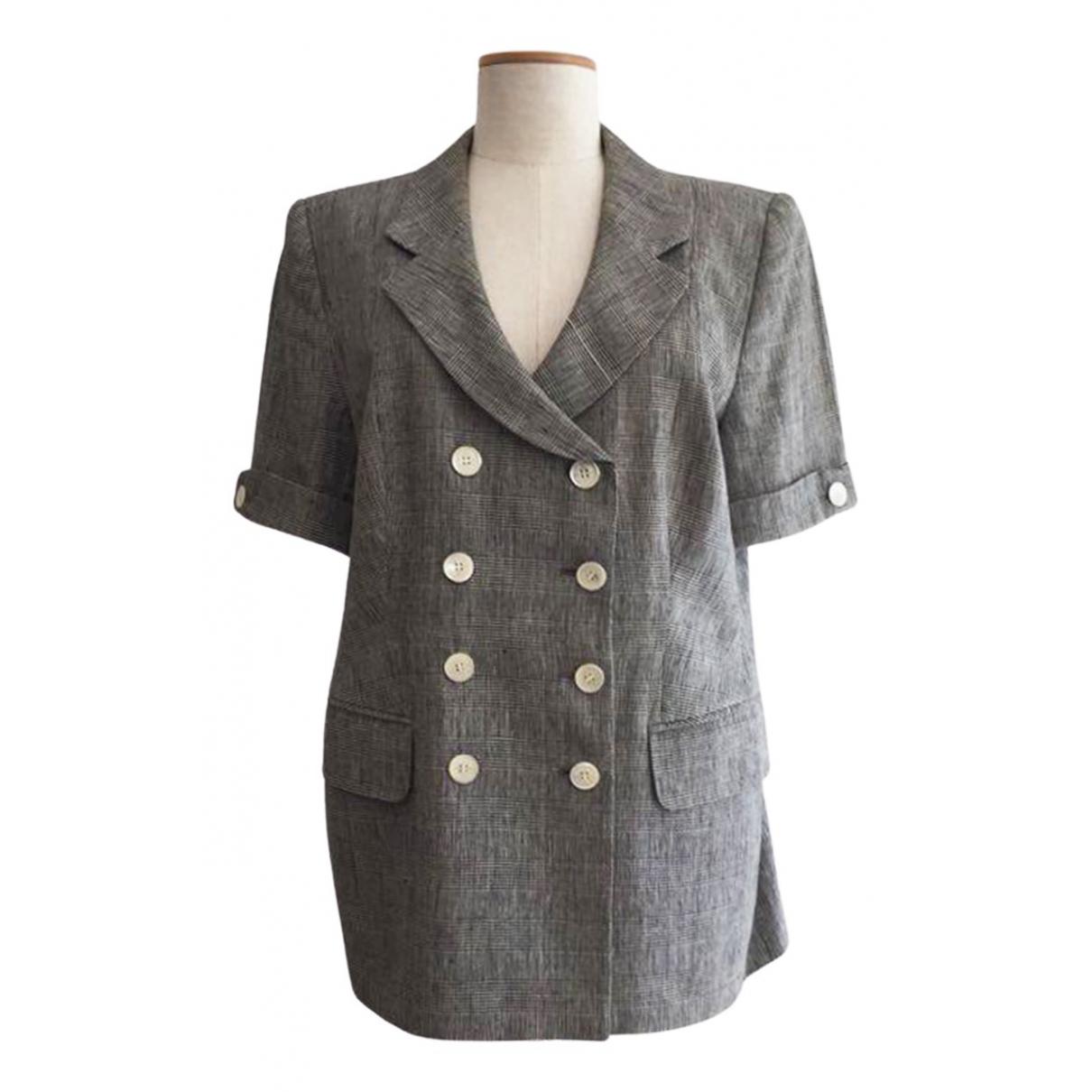 Rena Lange - Veste   pour femme en lin - gris