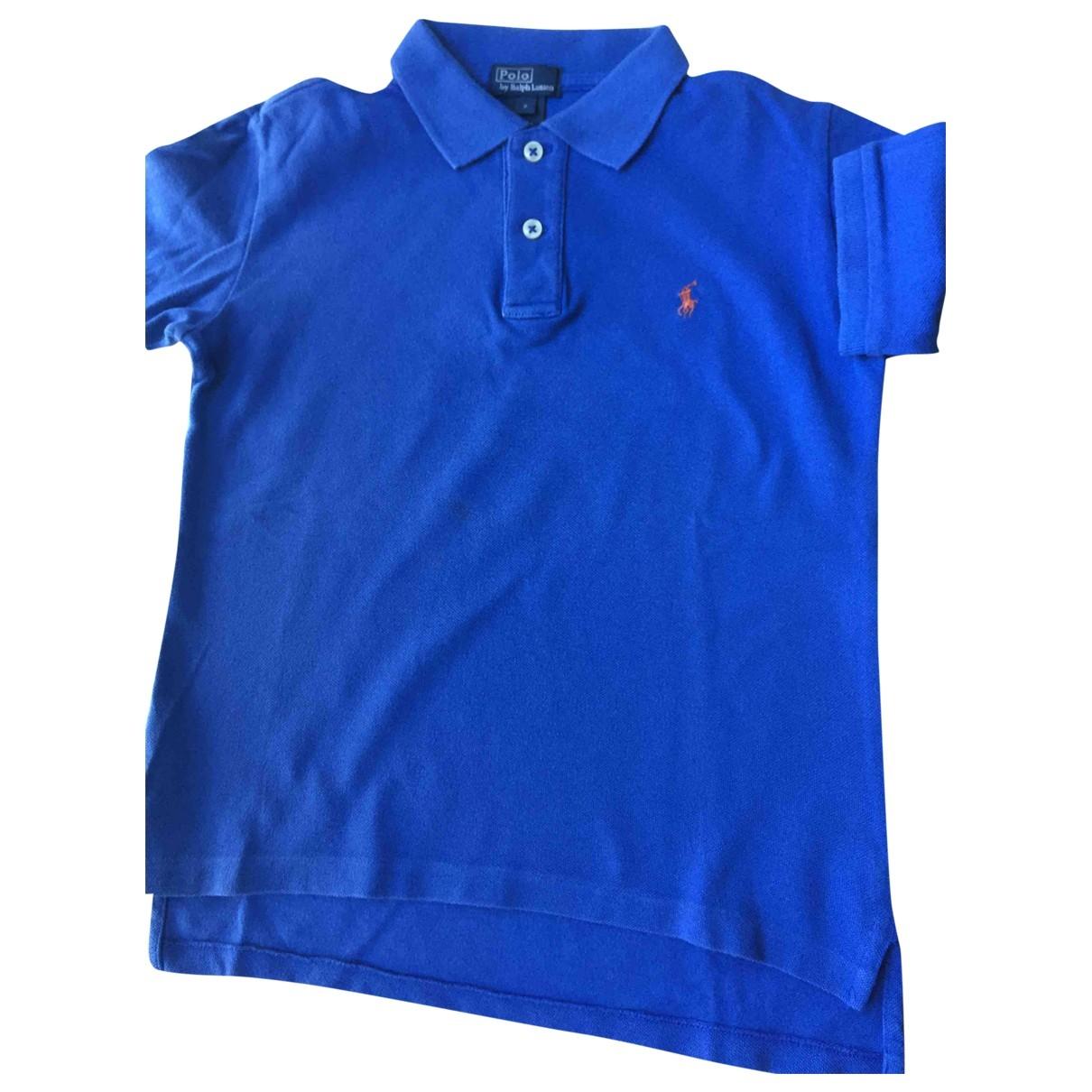 Camisetas en Algodon Azul Polo Ralph Lauren