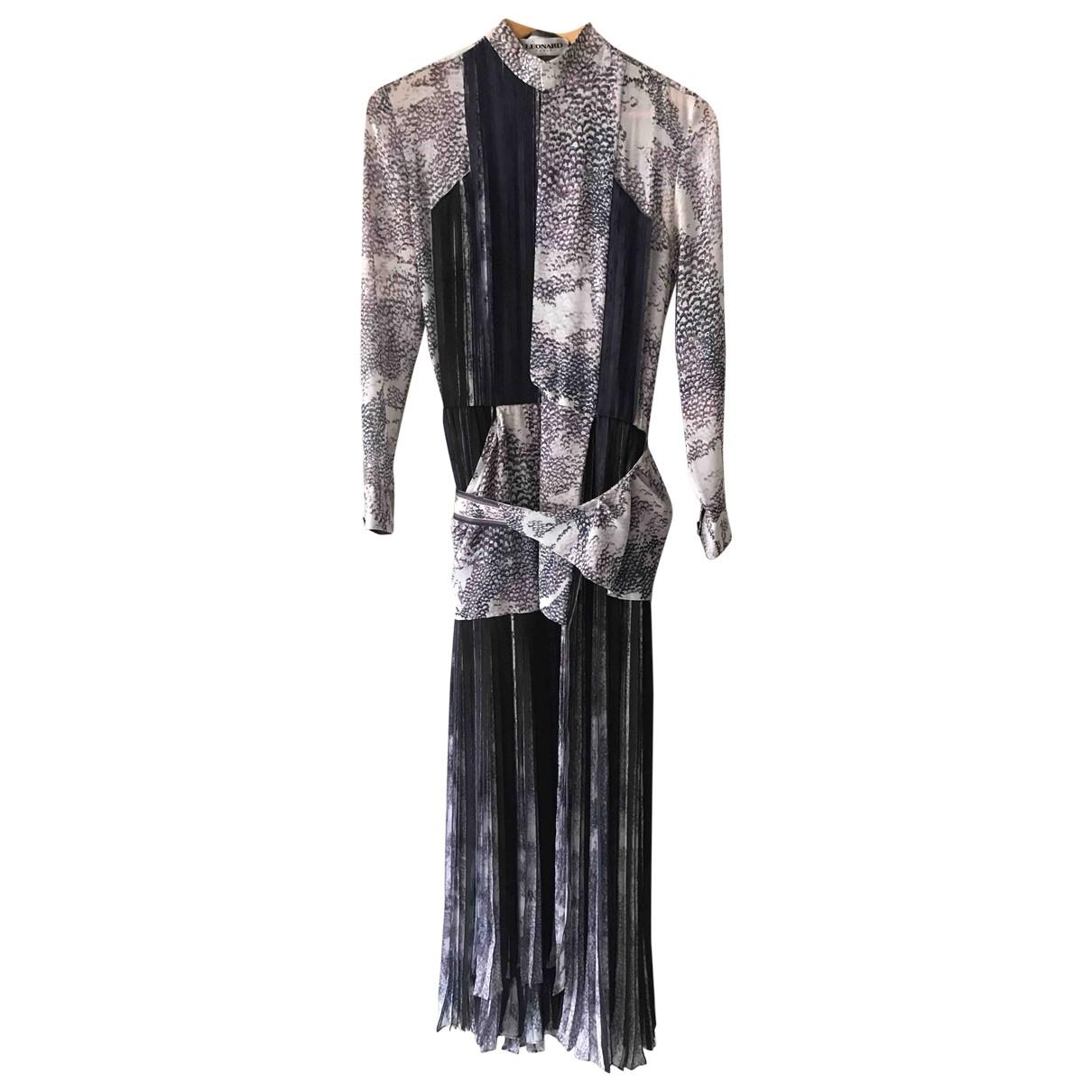 Maxi vestido de Seda Leonard
