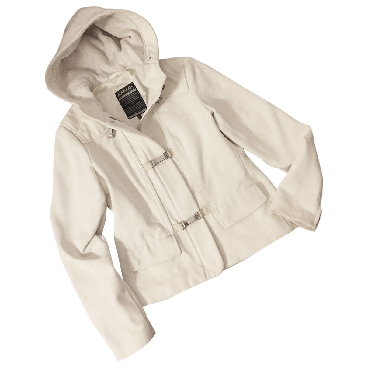 Non Signé / Unsigned \N White jacket for Women 44 IT