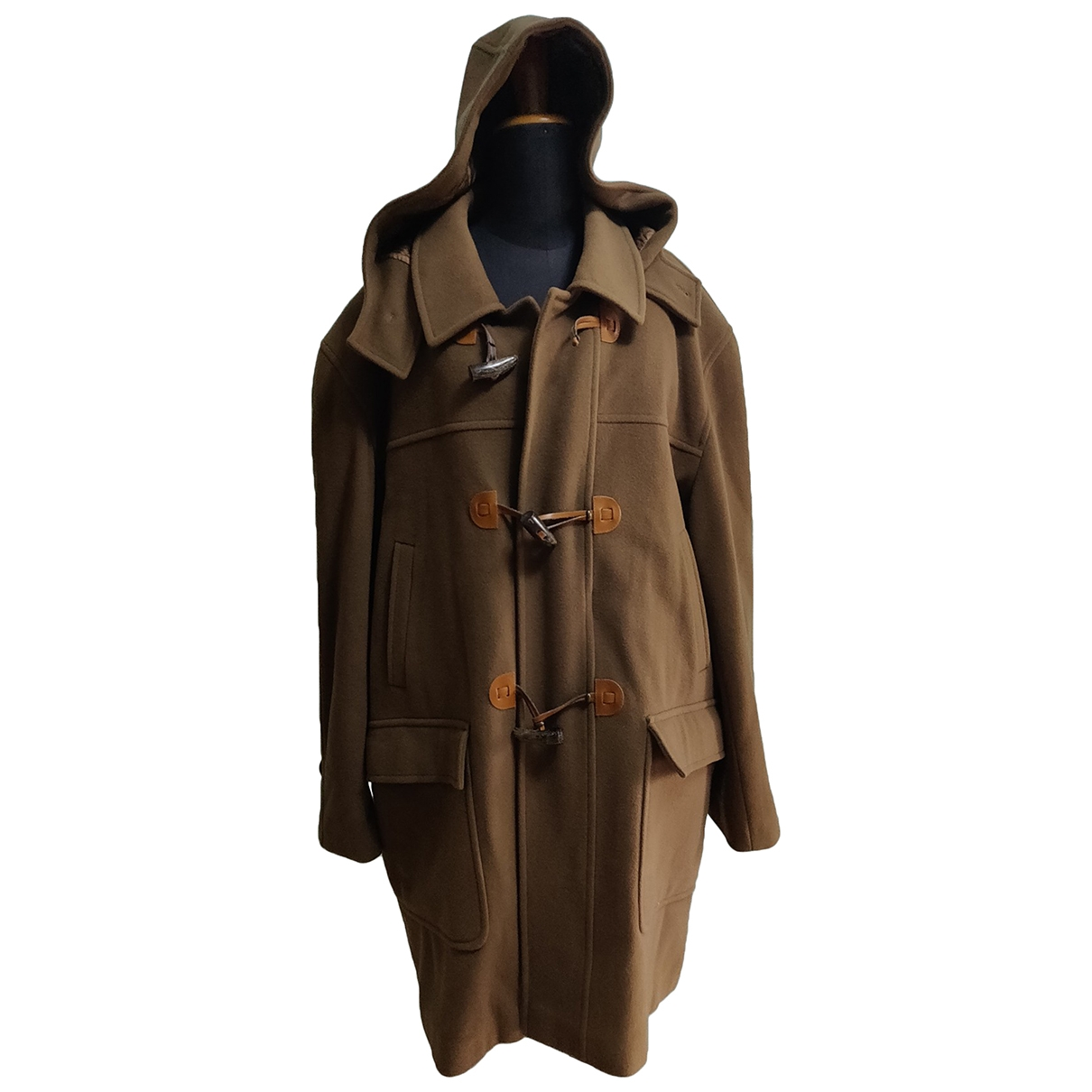 Non Signé / Unsigned \N Brown Cashmere coat  for Men 54 IT