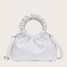 Girls Ruched Satchel Bag