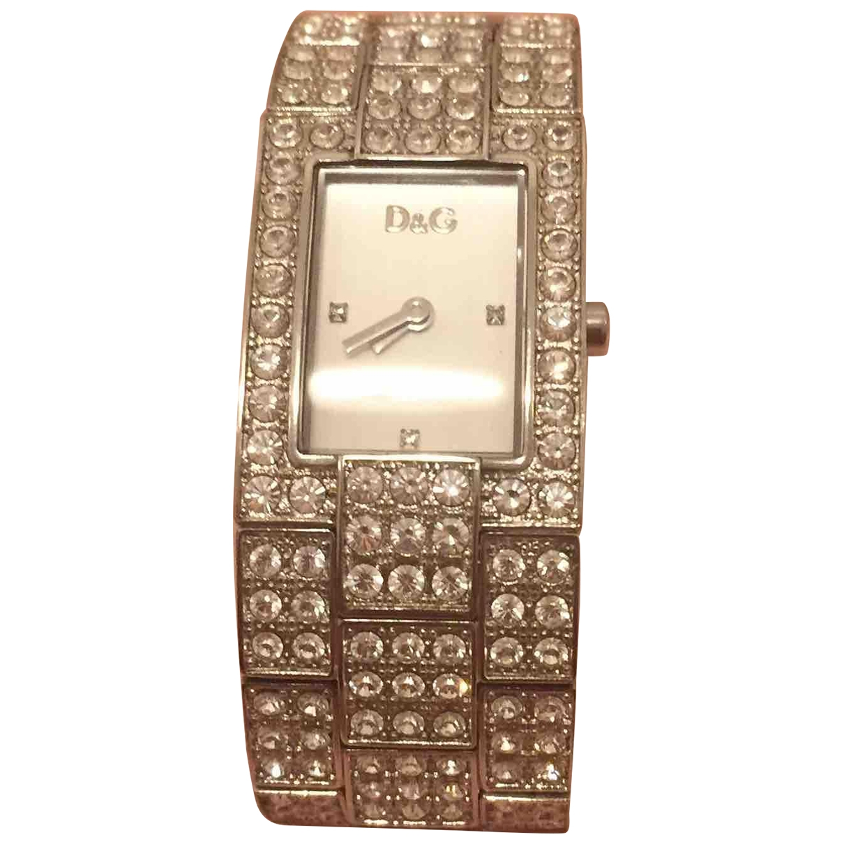 Dolce & Gabbana \N Uhr in  Silber Stahl