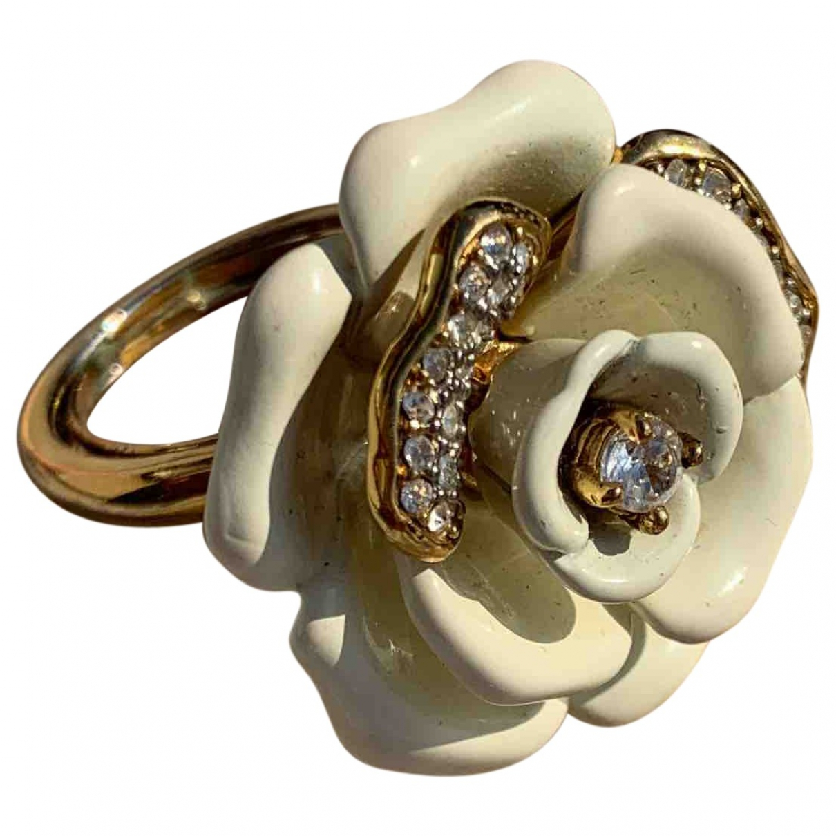 Juicy Couture \N Ring in  Gold Metall
