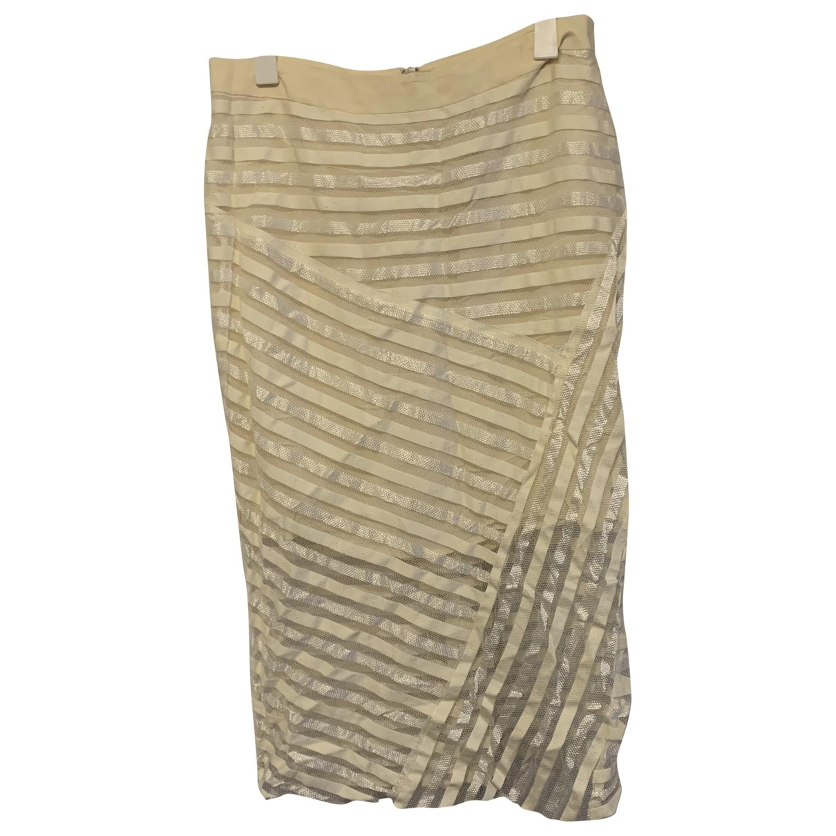 Rag & Bone - Jupe   pour femme en soie - blanc
