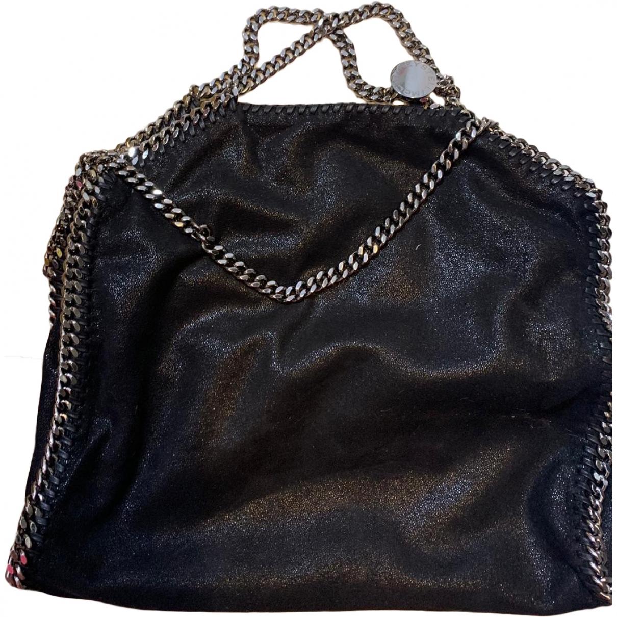 Stella Mccartney - Sac a main Falabella pour femme en toile - noir