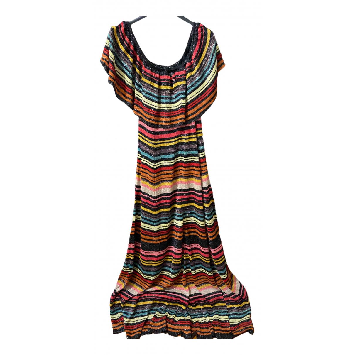 Zara \N Kleid in  Bunt Baumwolle