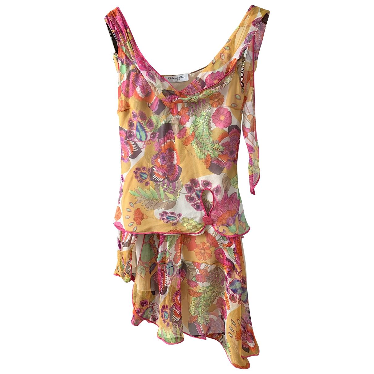 Vestido de Seda Dior