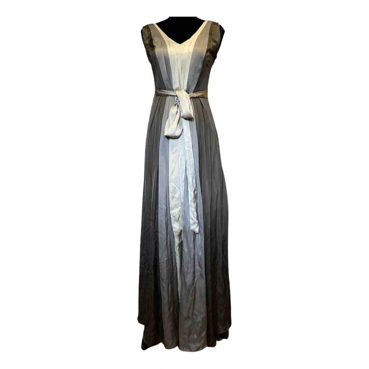 Coast N Brown Silk dress for Women M International