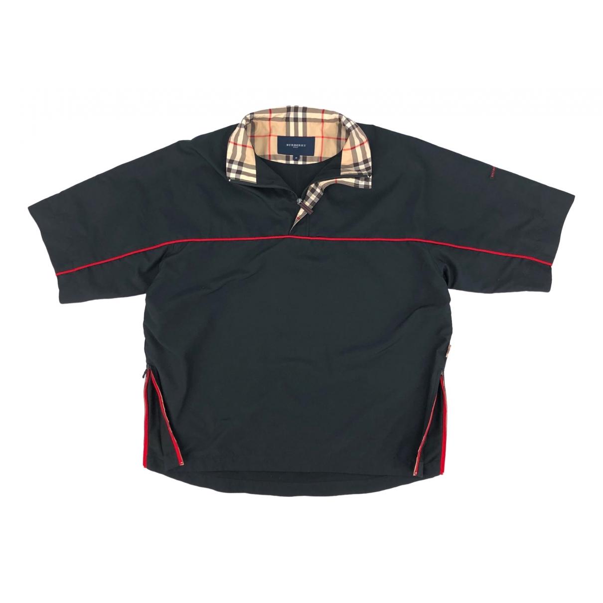 Burberry \N Black Polo shirts for Men M International