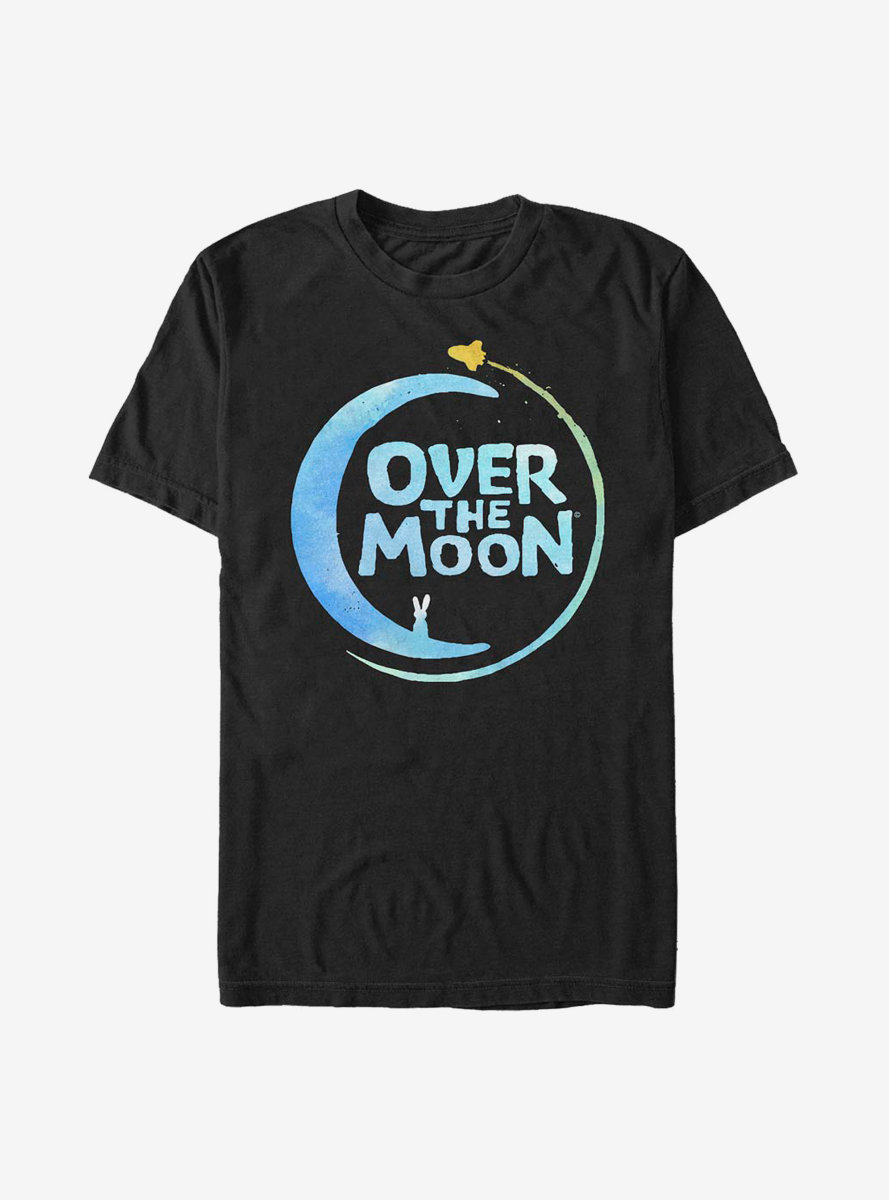 Over The Moon Script Logo T-Shirt