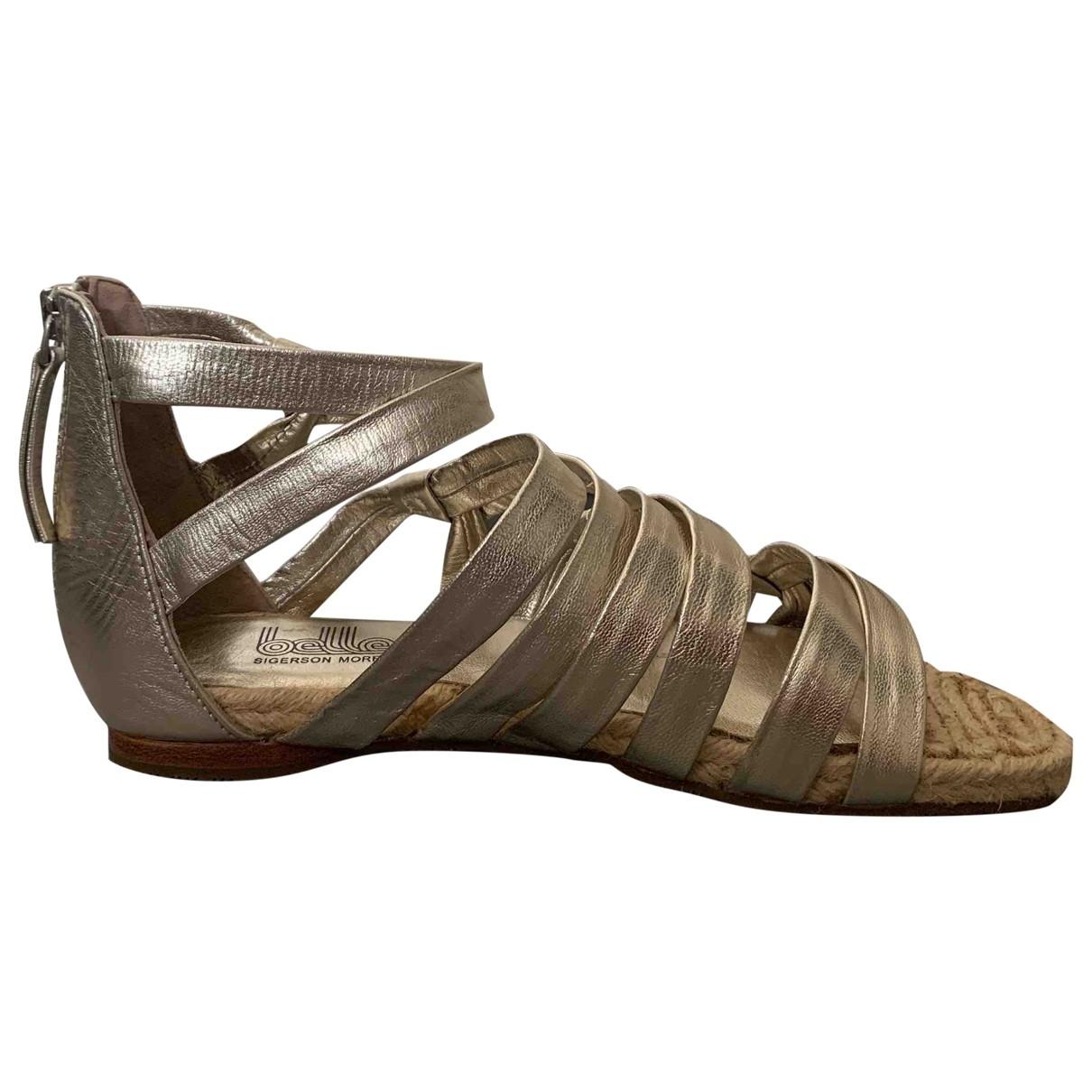 Sandalias romanas de Cuero Sigerson Morrison