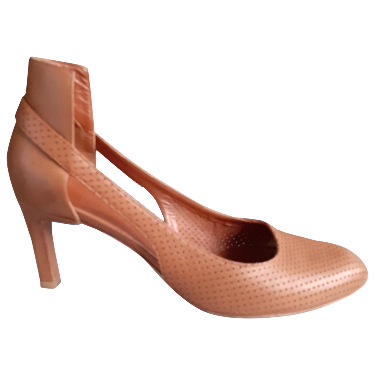 Véronique Branquinho \N Camel Leather Heels for Women 38 EU