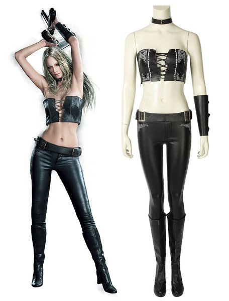 Milanoo Devil May Cry 5 Trish Halloween Cosplay Costume