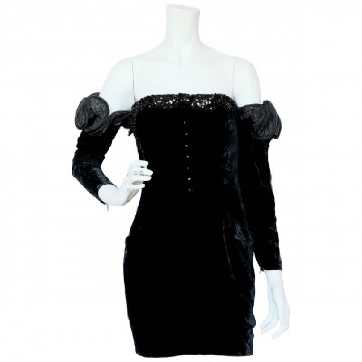 Nina Ricci \N Black Velvet dress for Women S International