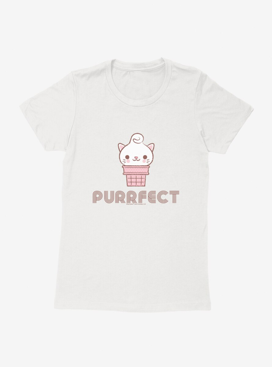 Kitty Cones Purrfect Womens T-Shirt