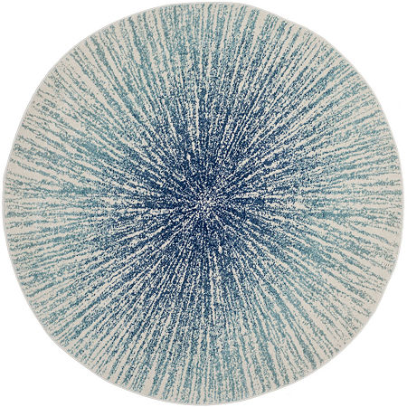 Safavieh Evoke Collection Aliya Abstract Round Area Rug, One Size , Multiple Colors