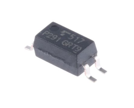 Toshiba , TLP291(GR DC Input Transistor Output Optocoupler, Surface Mount, 4-Pin SOIC (20)