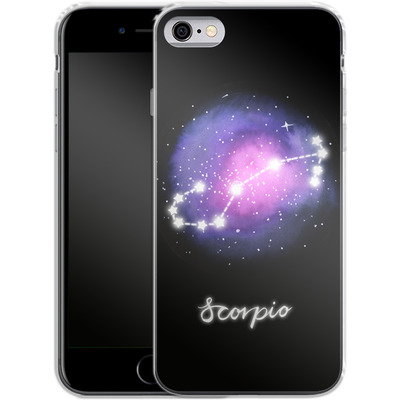 Apple iPhone 6s Silikon Handyhuelle - SCORPIO von Becky Starsmore
