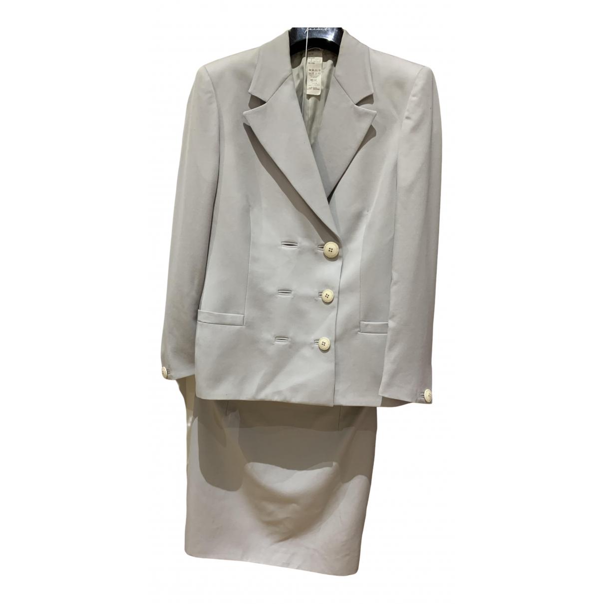 Gianni Versace - Veste   pour femme en laine - gris