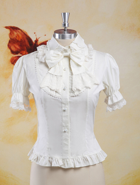 Milanoo Multi Color Short Sleeves Lolita Outfits