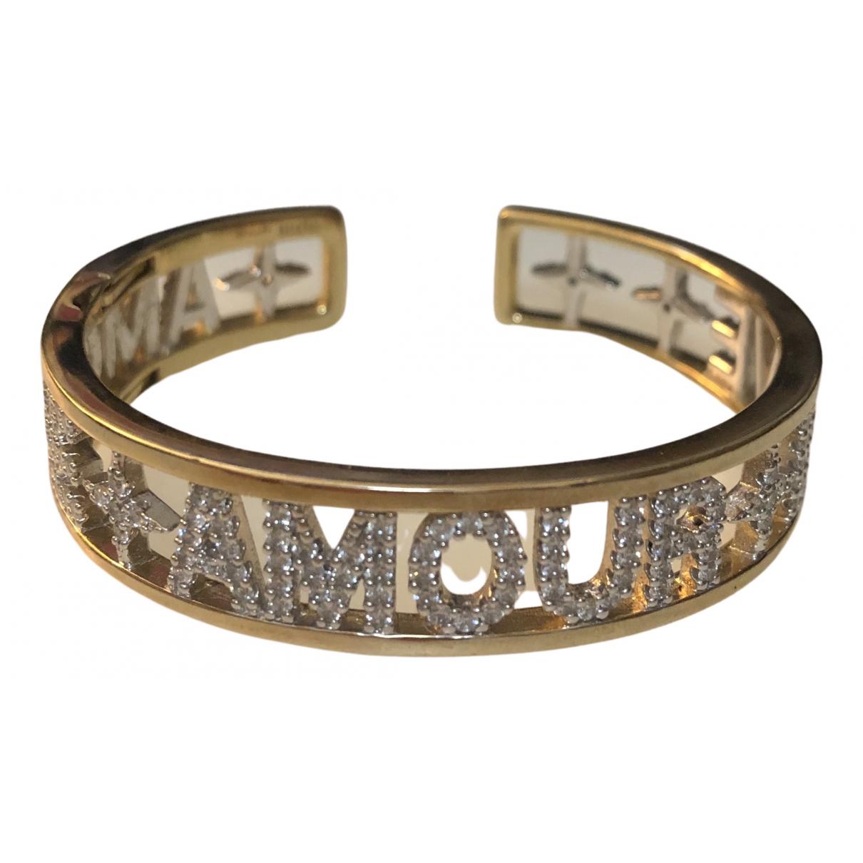 Apm Monaco - Bracelet   pour femme en argent - dore