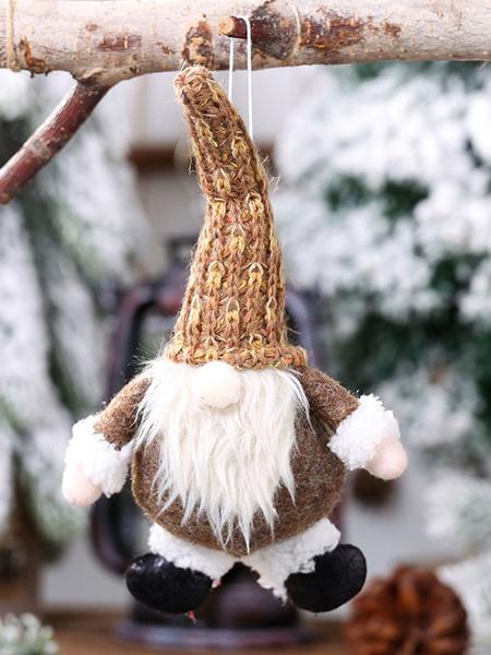 Milanoo Xmas Party Supplies Woodsman Knit Christmas Costume Decorations