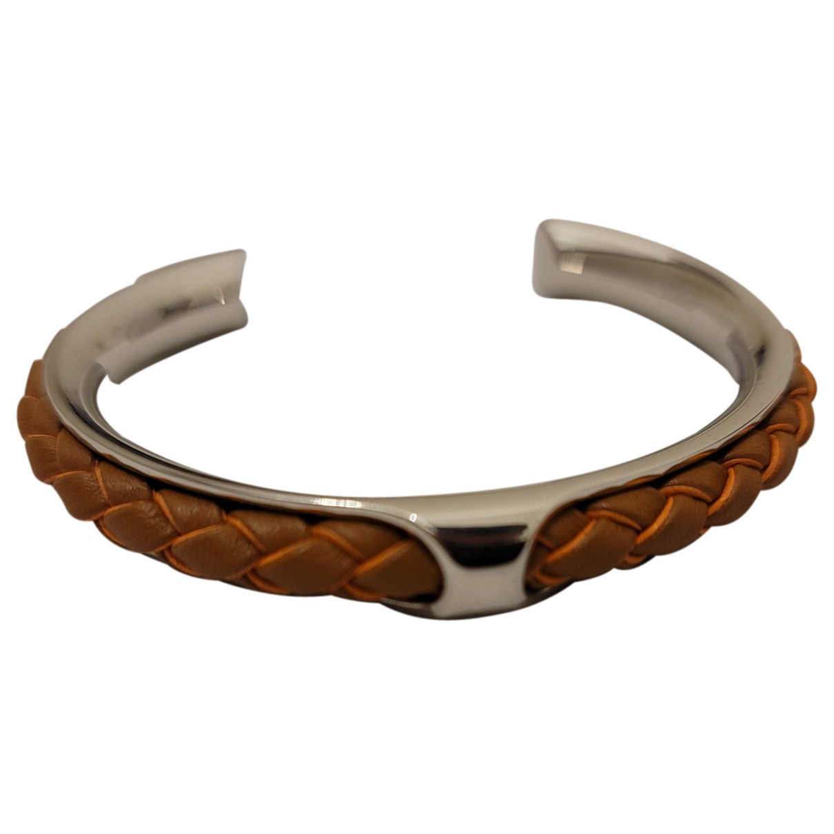 Hermès Kyoto Brown Steel bracelet for Women N