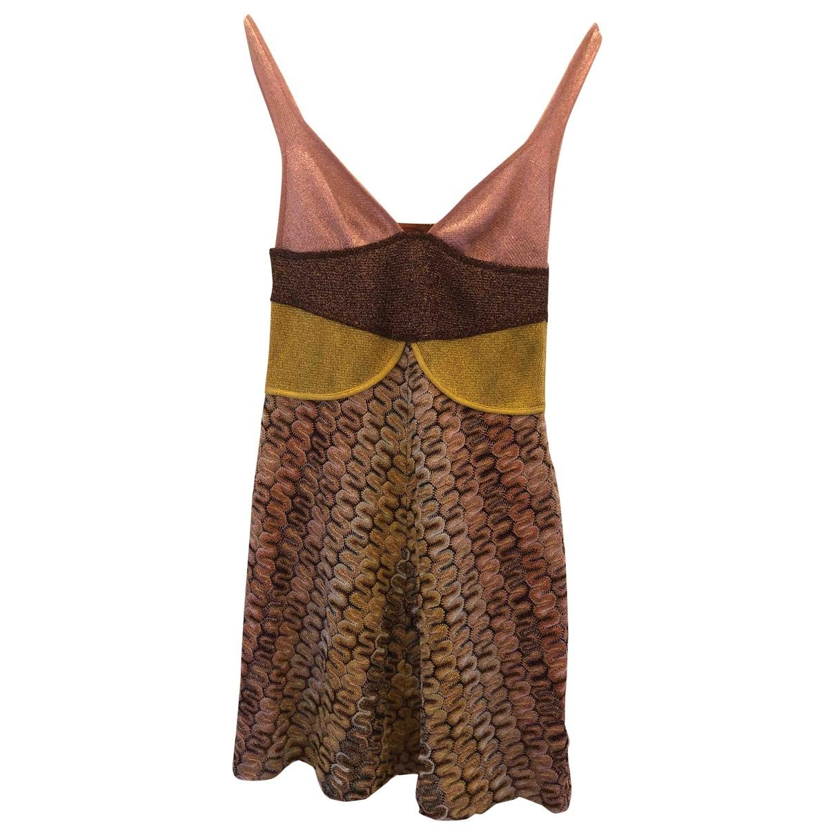 Missoni - Robe   pour femme - rose