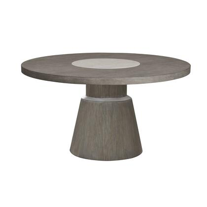 D233-132B Modern Round Dining Table Base in Natural