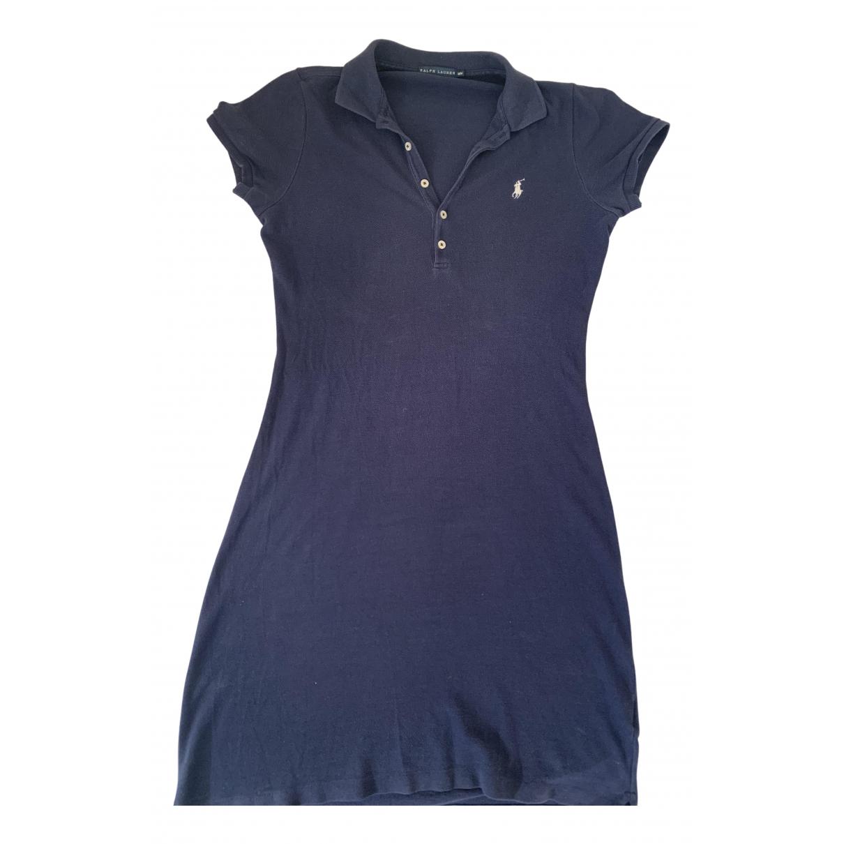 Ralph Lauren \N Blue Cotton dress for Women M International