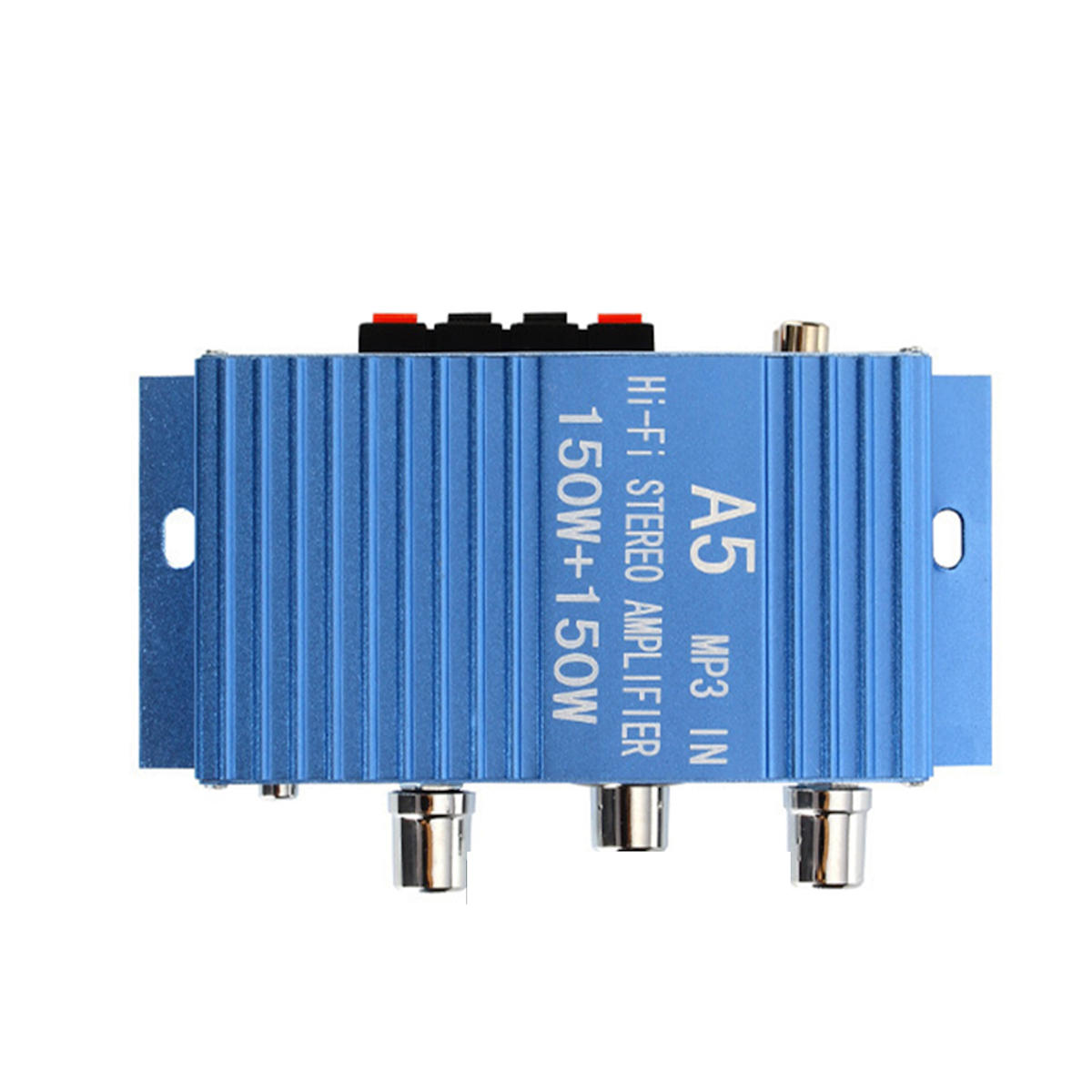 DX-A5 DC 12-15V Car Audio High Power Amplifier Amp Board Powerful Subwoofer Bass 2 Channels Amp for Car/Home/Theater