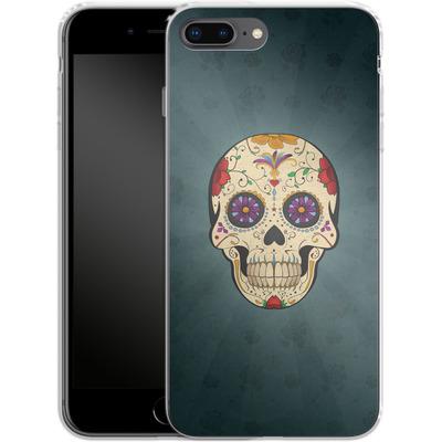 Apple iPhone 7 Plus Silikon Handyhuelle - Dia de Muertos von SONY