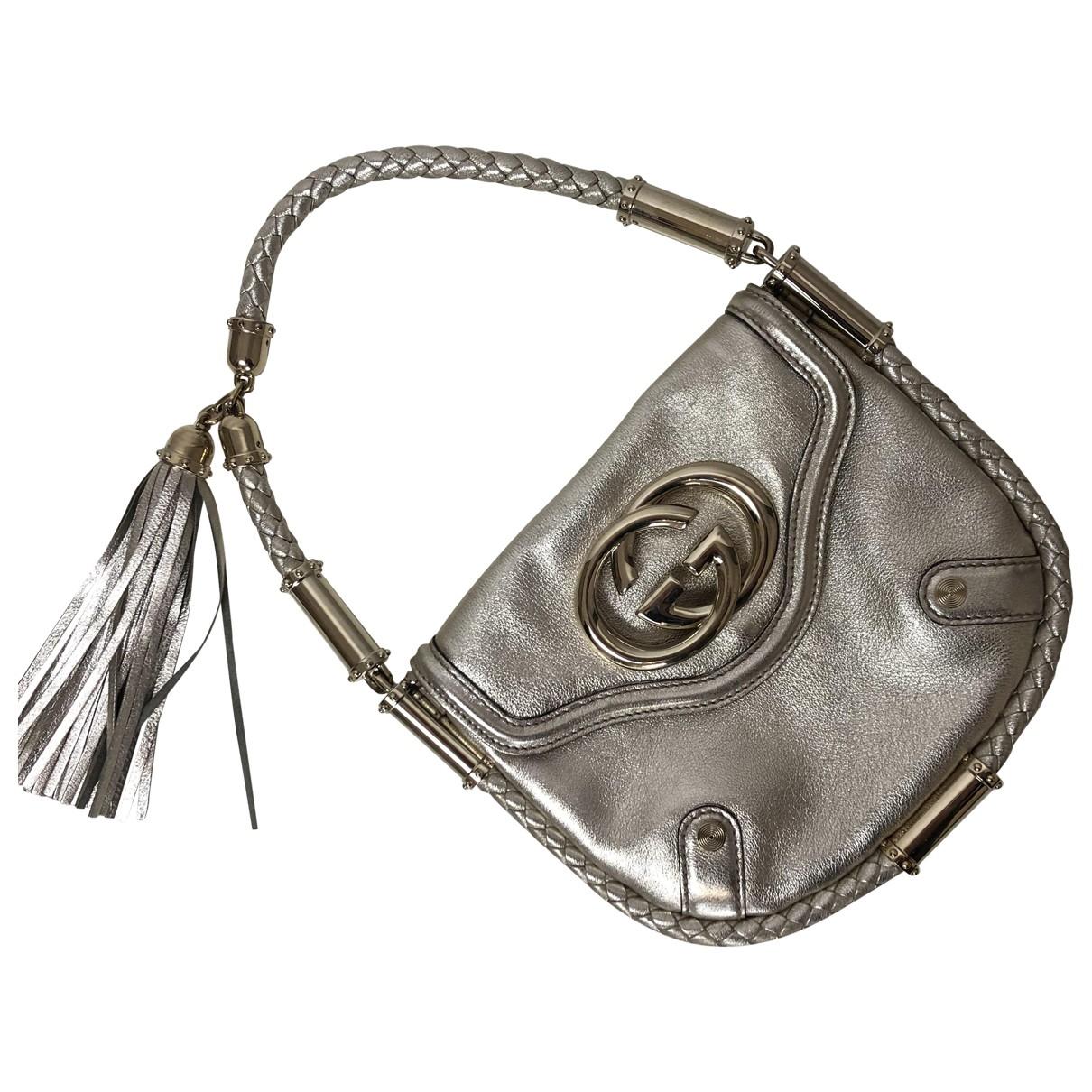 Gucci \N Handtasche in  Gold Leder