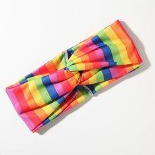 Rainbow Striped Headband