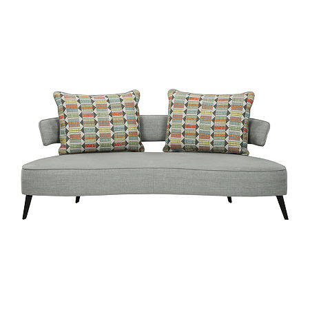 Signature Design by Ashley Hollyann Sofa, One Size , Gray
