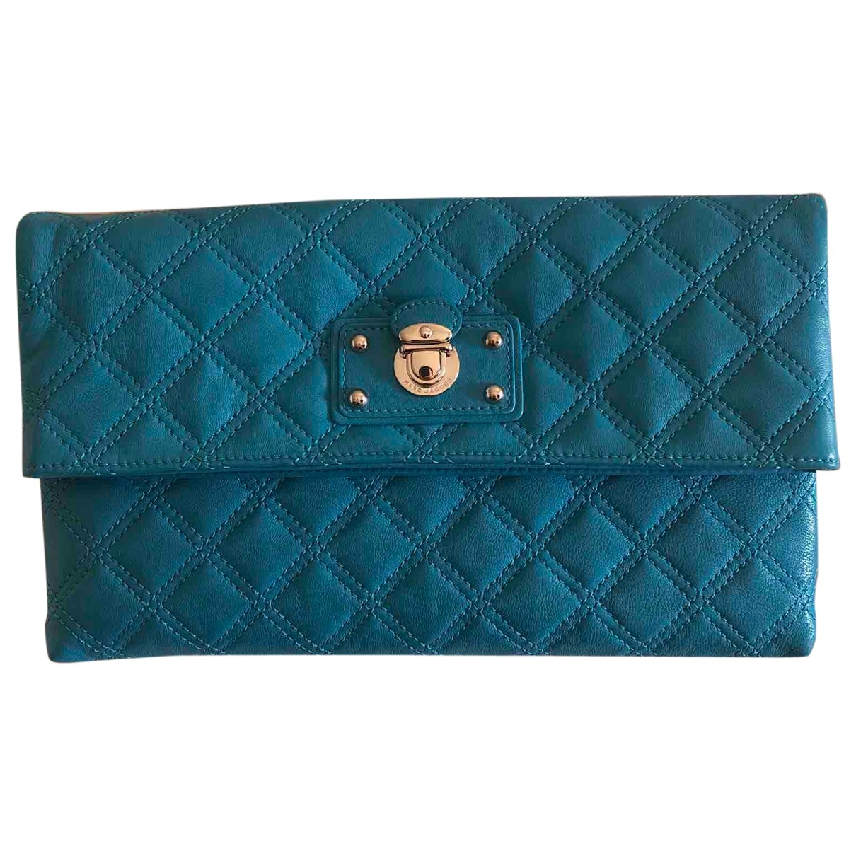 Marc Jacobs \N Turquoise Leather Clutch bag for Women \N