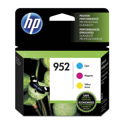 HP 952 N9K27AN Original Ink Cartridge Combo C/M/Y