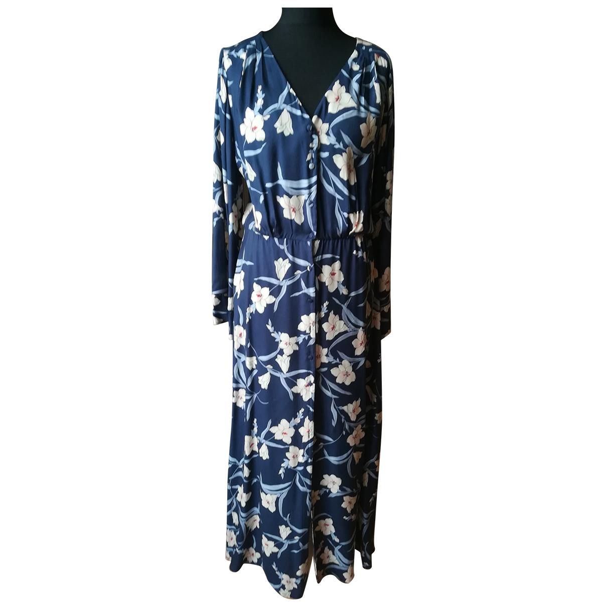 Twin Set \N Kleid in  Blau Viskose