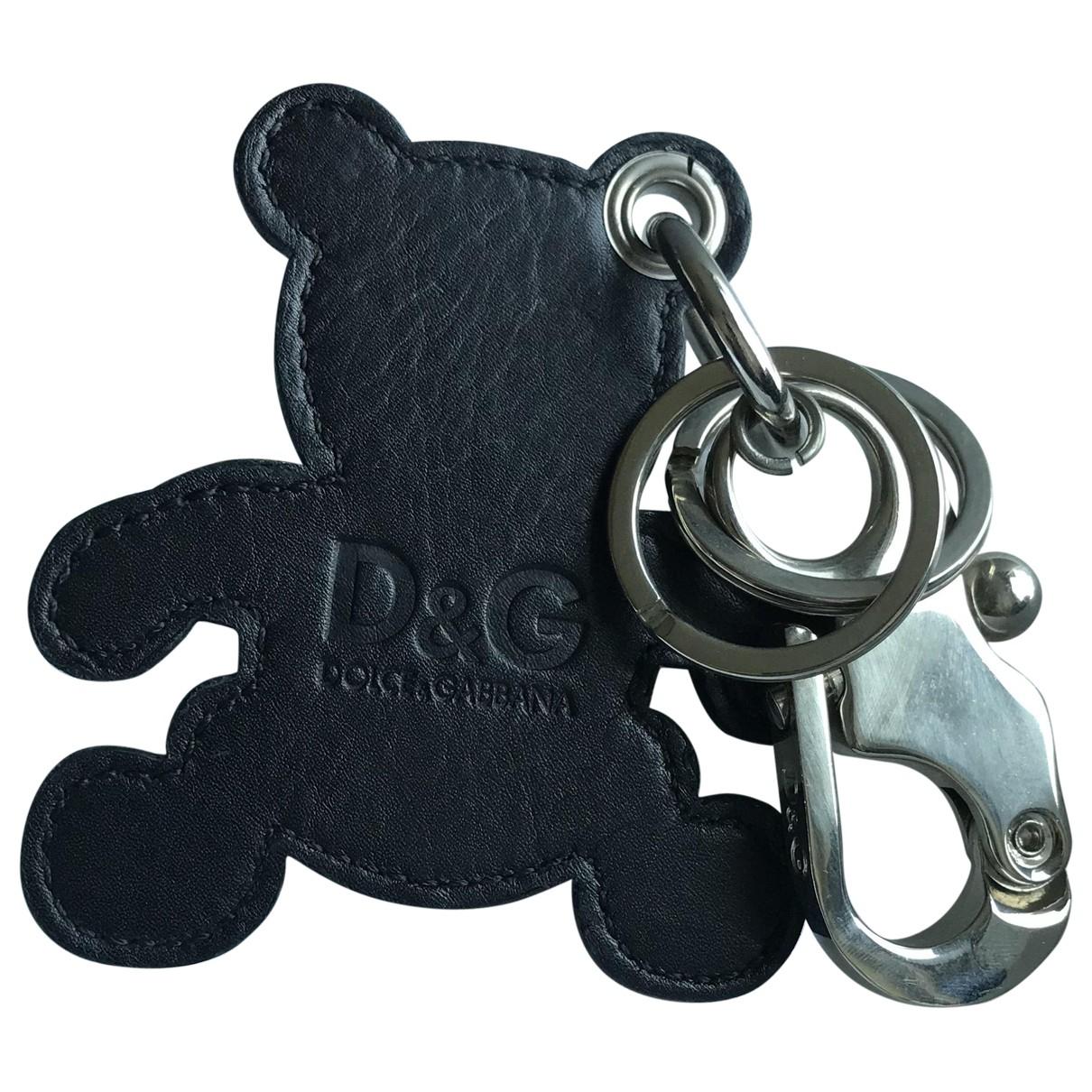 D&g \N Taschenschmuck in  Schwarz Leder