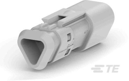 Deutsch ,  DT Automotive Connector Socket 2 Row 3 Way, Screw Termination, IP68, Grey (150)
