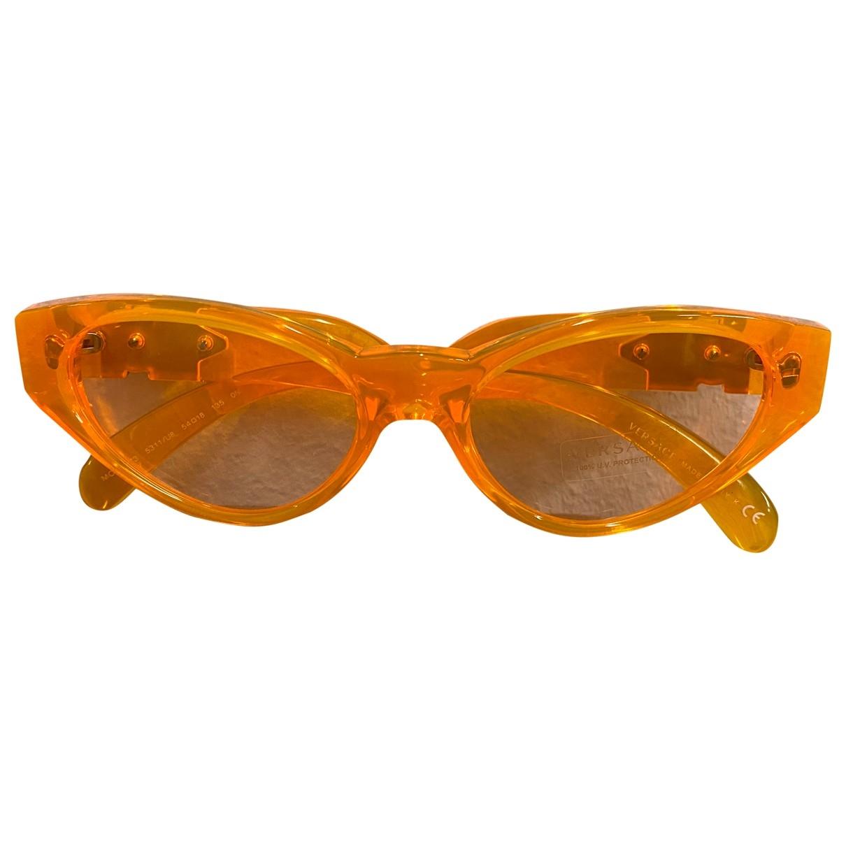 Versace - Lunettes   pour femme - orange
